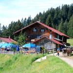 Alpe Oberberg, Mittag