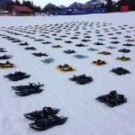 Schneeschuhe sind bereit